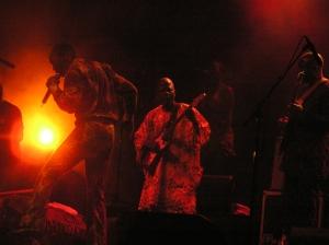 Fela Kuti's son Seun at WOMAD Taranaki 2010