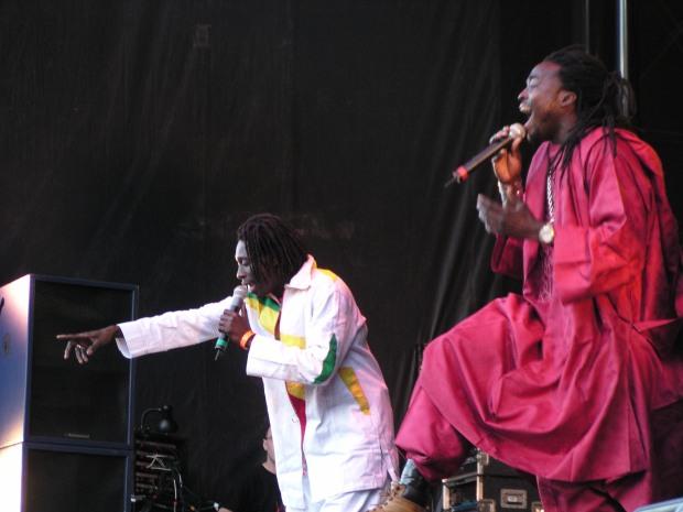 Daara J at WOMAD Taranaki in 2005