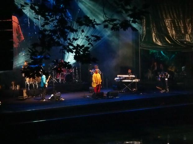 Hugh Masekela on opening night - Bowl Stage